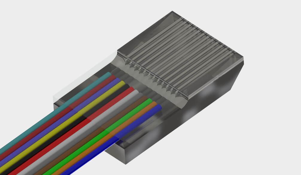Product from Cudoform - Metallic Fiber Array
